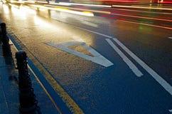 Tira especial para veículos routeing Fotos de Stock Royalty Free