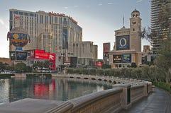 A tira, Las Vegas Foto de Stock Royalty Free