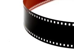 Tira negativa de la película de color 35 milímetros Fotos de archivo libres de regalías