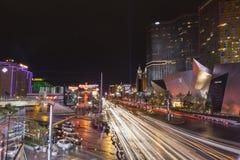 Tira ocupada de Vegas após uma tempestade em Las Vegas, nanovolt o 19 de julho de 2013 Fotos de Stock