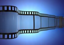 Tira ondulada de la película Imagen de archivo libre de regalías