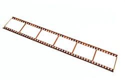 Tira velha da película de 35 milímetros Fotos de Stock Royalty Free