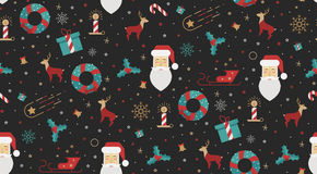 Tirada brillante de la Navidad para la tela Imagenes de archivo