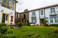 Tiradentes hostel exterior stock images