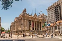 Tiradentes-Palast - Rio de Janeiro - Brasilien Lizenzfreies Stockfoto