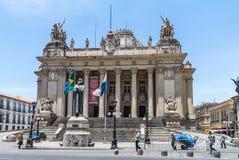 Tiradentes-Palast - Rio de Janeiro - Brasilien Lizenzfreies Stockbild