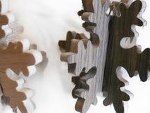 Tirado de algunas decoraciones de la Navidad imagen de archivo libre de regalías