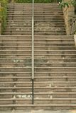 Tirado de la escalera Imagen de archivo libre de regalías