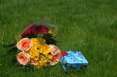 tirado de la flor Foto de archivo libre de regalías