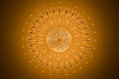 Tirado de la lámpara casera de los interiores Foto de archivo libre de regalías