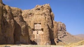Tirado de la necrópolis histórica de los reyes persas metrajes
