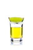 Tirado de tequila Foto de archivo