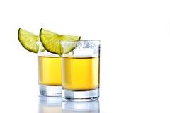 Tirado de tequila Imágenes de archivo libres de regalías