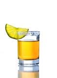 Tirado de tequila Imagen de archivo libre de regalías