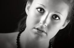 Tirado de un adolescente hermoso Imagen de archivo