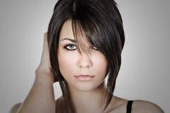 Tirado de un modelo adolescente hermoso Foto de archivo libre de regalías