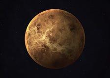 Tirado de Venus tomado de espacio abierto collage imágenes de archivo libres de regalías