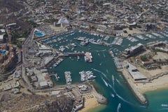 Tirado del aire en Los Cabos Foto de archivo