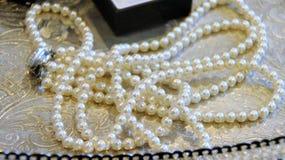 Tirado del monedero de la mujer, del bolso, del collar, del pendiente y de los accesorios de la boda fotografía de archivo libre de regalías