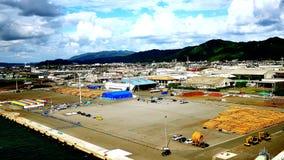 tirado del puerto ocupado de tsuruga de Japón en la prefectura de Fukui almacen de video