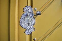 Tirador de puerta antiguo Imagenes de archivo