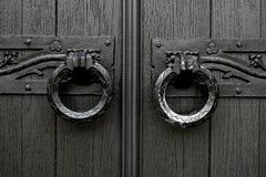 Tirador de puerta de la iglesia Foto de archivo libre de regalías