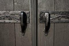 Tirador de puerta de la iglesia Fotos de archivo
