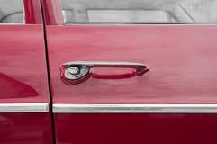 Tirador de puerta del coche Imágenes de archivo libres de regalías