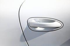Tirador de puerta del coche Imagen de archivo libre de regalías