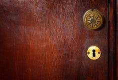 Tirador de puerta del vintage imagenes de archivo