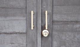 Tirador de puerta del vintage Imagen de archivo