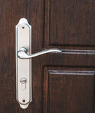 Tirador de puerta exterior Foto de archivo