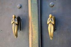 Tiradores de puerta Imagenes de archivo