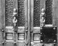 Tiradores de puerta del vintage Imagen de archivo