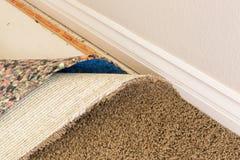 Tirados alfombra y acolchado en sitio Fotos de archivo libres de regalías