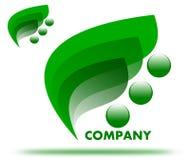 Tiragem de um logotipo da empresa da saúde ilustração do vetor