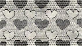 Tiragem preto e branco do fundo abstrato ilustração stock
