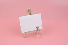 Tiraggio agricolo della figurina il bordo bianco fotografia stock libera da diritti