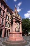 Tiraggio antico bene a Mainz fotografia stock libera da diritti