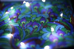Tiraggio astratto con le luci 2 immagine stock