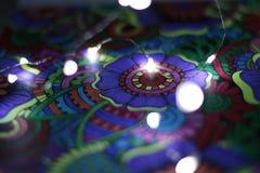 Tiraggio astratto con le luci 3 immagini stock libere da diritti