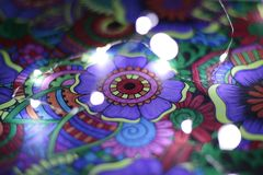 Tiraggio astratto con le luci 4 immagine stock libera da diritti