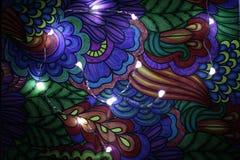 Tiraggio astratto con le luci 7 fotografie stock libere da diritti