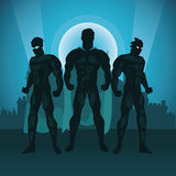 Tiraggio del fumetto del supereroe, illustrazione di vettore royalty illustrazione gratis