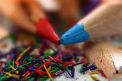 Tiraggio della matita Fotografia Stock