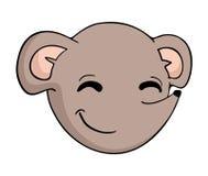 Tiraggio divertente del ratto illustrazione di stock