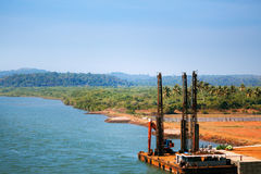 Tirakol river Stock Images