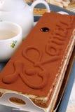 tiramisu κέικ Στοκ Φωτογραφίες