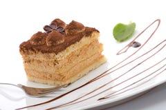 tiramisu десерта Стоковое Изображение