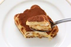 tiramisu итальянки десерта Стоковые Изображения RF
